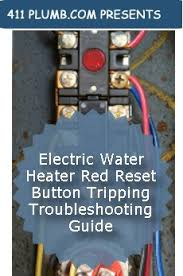electric water heater red reset button tripping troubleshooting guide Reset Switch Wiring Diagram Reset Switch Wiring Diagram #87 reset button wiring diagram