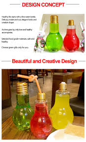 Light Bulb Drink Bottle Wholesale Lamb Shaped Juice Tea Drinking Cup The Disposable Plastic Cold Brew Light Bulb Water Bottle For Drinks Buy Light Bulb Bottle Cold Brew