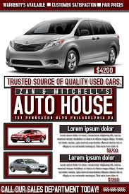Car Flyers Template Postermywall