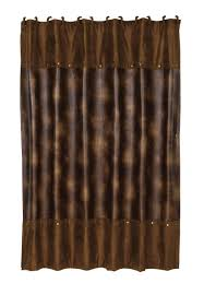 Curtain: Rustic Shower Curtains For Trendy Bathroom ...