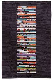 Dramatize A Focal Wall With Modern Quilt Wall Hangings — annsliee & Discovered on Pinterest Adamdwight.com