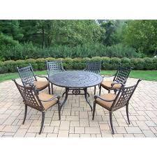 round patio dining set latest round patio dining sets living in 7 piece round patio dining