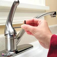 fix leaking faucet handle how to repair a single handle kitchen faucet how to repair leaking