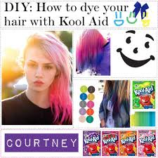 Kool Aid Hair Color Chart How To Dye Hair With Kool Aid And Conditioner Fepa