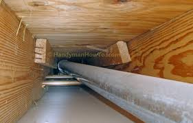 How To Replace A Bathroom Exhaust Fan And Ductwork Old Vent Duct - Bathroom venting into attic