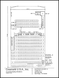 Cinemark Seating Chart Seating Plans For Modified Theaters