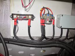 s v lux getting juiced under way battery charging lux has three battery banks the 600ah house bank a starboard starting battery and a port starting battery the original electrical system uses an