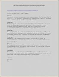 Resume Template For Letter Of Recommendation Template Letter Of Recommendation Imaxinaria Org