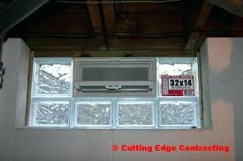 glass block windows installation precious basement glass block window installation cutting edge in plans basement glass