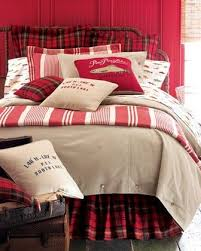 classic red and black tartan combined