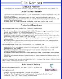 Executive Assistant Resume Examples 2014