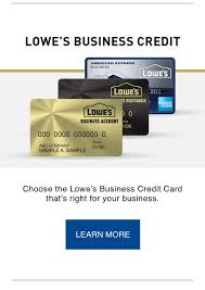 Lowes Commercial Credit Card Application Lowes Business Credit Chooses Rdwadewthe Lowes Business Credit