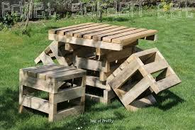 pallet furniture garden. Floor Pallet Furniture Garden