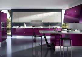 exciting modern kitchen interior design decoration wall ideas grey and white comwp purple cabinets with backsplash