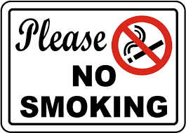 No Smoking Signage Please No Smoking Sign J2514 By Safetysign Com