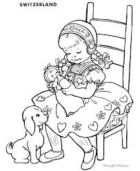 Small Picture 69 best Coloring Pages Vintage images on Pinterest Picasa