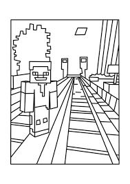 Small Picture Printable minecraft coloring pages for kids ColoringStar