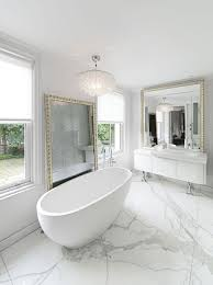 white carrara marble bathroom. Marble Bathroom Floor White Carrara