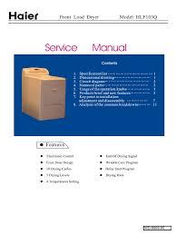 haier electric dryer hlf103ql service manual wd 8888 95 3 clothes haier electric dryer hlf103ql service manual wd 8888 95 3 clothes dryer electrical wiring