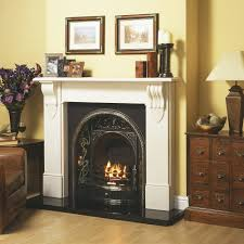cast tec belfast cast insert for solid fuel with fireback in highlighted polished cast tec firebacks for fireplaces