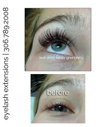 eyelash extensions regina before and after picture of regina client eye makeup remover safe