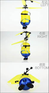 Rc Helicopter Size Chart Minion Drone Rc Helicopter Aircraft Mini Drone Fly Flashing