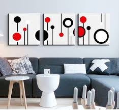 3 piece canvas wall art wall picture modern wall abstract oil canvas painting black white and red wall pictures for living room on 3 piece abstract canvas wall art with 3 piece canvas wall art wall picture modern wall abstract oil canvas