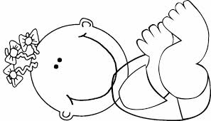 Small Picture Baby Coloring Pages For Girls Baby Coloring Pages 05 Coloring