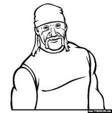 Hulk vs batman coloring pages,unexpected fight between two superheroes,drawing of the heroes. Wrestling Hulk Hogan Coloring Pages Coloring And Drawing
