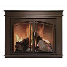 fireplace replacement doors. Pleasant Hearth FN-5702 Fenwick Fireplace Glass Door, Oil Rubbed Bronze, Large Replacement Doors O