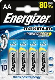 ROZETKA | <b>Батарейка Energizer Maximum AA</b> 4 шт ...