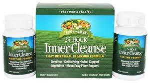 garden greens inner cleanse 24 hour 7 day intestinal cleansing formula 84 tablets at luckyvitamin