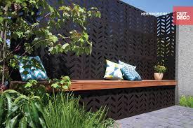 garden screen. Trendy Outdeco Privacy Panel And Garden Screens HERRINGBONE - 80% Screen