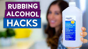 10 ways to clean with rubbing alcohol