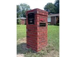 brick mailbox flag. Beautiful Brick Masonry Mailbox Flag Brick Construction  Home Design Show To Brick Mailbox Flag W