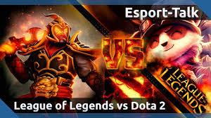 king of esports dota 2 vs league of legends esport talk