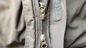 how to repair a zipper with two sliders