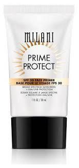 Milani <b>Праймер для лица Prime</b> Protect SPF 30 Face Primer 30 мл ...
