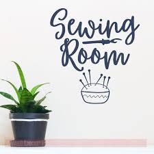 sewing room wall decals sticker vinyl