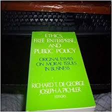ethics enterprise and public policy original essays on ethics enterprise and public policy original essays on moral issues in business michael harrington richard t de george joseph a pichler