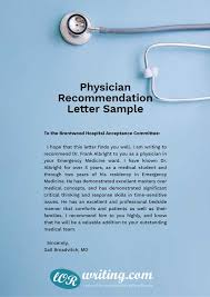 Best Letter Of Recommendation For Medical School Professional Medical School Recommendation Letter Example