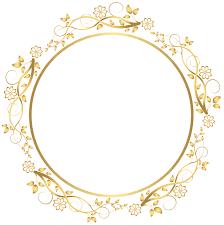 gold frame border png. Round Frame Border Png Gold