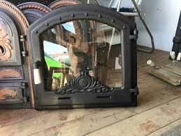 doors for a fireplace of the furnace of a barbecue of 500 500 mm an oven door with glass