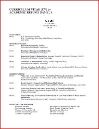 Cv Examples Executive Senior Management Info Example Of A
