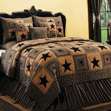 Vintage Star 6 Piece Black Wine Country Quilt Set - Walmart.com & Vintage Star 6 Piece Black Wine Country Quilt Set Adamdwight.com