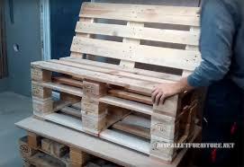 make pallet furniture. Make Sofa Pallets Diy Pallet Furniture L