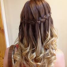 Hairstyle Waterfall waterfall braid hairstyle for women how to style video tutorial 2363 by stevesalt.us