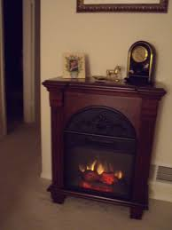 regent 18in antique mahogany electric fireplace petit foyer mantel package 18pf338 m215