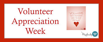 "Volunteer Appreciation - A Time To Say ""Thanks"" via Relatably.com"
