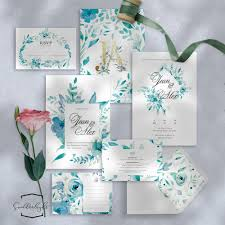 Weding Card Designs Printable Semi Custom Wedding Invitation Card Suite